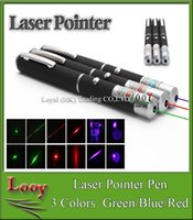 Wholesale 10pcs mW nm Green light Beam Laser Pointer Pen efit For SOS Mounting Night Hunting teaching Xmas gift DHL