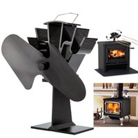 Wholesale Liank SF Ecofan Eco friendly Heat Powered Stove Fan for Wood Gas Pellet Stoves Flabellum blade
