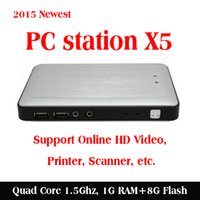 Wholesale SHAREVDI multi users solution Quad Core CPU X5 thin client net computer for media classroom cyber cafe enterprise P