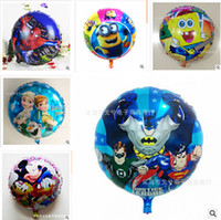inflatable christmas - 82 styles Halloween balloon Frozen Balloons for Party Decoration Helium Cartoon Foil Minions balloons Inflatable Kids Toy Christmas Balloon
