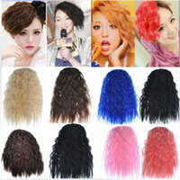 Wholesale 1pcs Korea Fashion Synthetic Curly Hair Bangs Curly Fringe With Clip On Hair Extensions Hairpieces