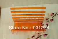 acrylic magazine racks - folding acrylic book holder multicolored lucite magazine rack Eco friendly book basket retail and