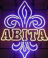 Wholesale New Abita Glass Neon Sign Light Beer Bar Pub Sign Arts Crafts Gifts Lighting Size quot