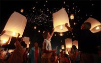 Wholesale Sky Flying Fire KongMing Lanterns Light Wishing Lamp For Wedding Party
