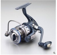 additive color wheel - Fishing Spinning Reel wire collect Fishing line wheel blue color Metal Handle JF series