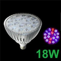 Wholesale Hydroponic Grow Lamp Full Spectrum Led Grow Lights E27 W W W W W W W Red Blue Lamp PAR Bulbs for Plant Medical Flower