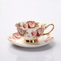 bone china tea cup - Top grade gift Royal Classic England Bone China afternoon tea coffee Cup saucer set
