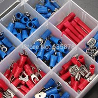 Wholesale cm x cm x cm Electrical Wire Assorted Insulated Crimp Terminals Connector Spade Kit order lt no track