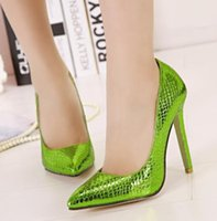 apple green dress shoes - 2015 New arrival apple green pumps high heels women shoes green color dress shoes thin heel pumps pointed toe women heels pumps bmjuhy98
