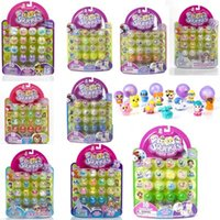Wholesale SQUINKIES q small minis mini dolls toy PVC Squinkies Mini Capsule small capsule Classic Action Toys birthday gifts for children