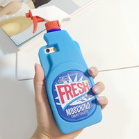 fresh apple - Blue Fresh Couture Fragrance Cleaning Spray Bottle Cover Soft Silicone Case For Iphone S S Plus I6S I5 Phone Rubber Cover Skin