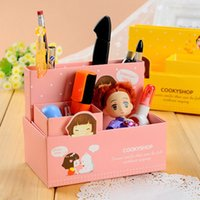 paper agent - Korean version of the creative agency Agent a generation of fat storage box stationery pen student paper
