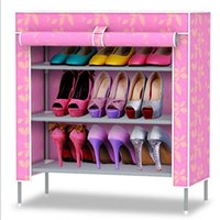 shoe cabinet - Shoes cabinet shoes racks storage large capacity home furniture DIY simple layers Living Room Furniture