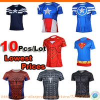 Wholesale Superheroes men cycling jersey bicycle jersey for man MTB jersey bike Racing jacket clothing Sports T shirt