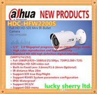 Wholesale DAHUA Full HD HD SDI Mini IR Bullet Camera IP66 P HD SDI Camera with M IR Distance HDC HFW2200S