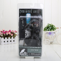 Multicolor archive boxes - 7 NECA Hunk th anniversary Resident Evil ARCHIVES SERIES Action Figure New in BOX