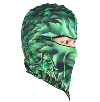 Wholesale Men s Cool Cycling Motorcycle Face Mask Cartoon Animal Print Cycling Ski Hat Veil Colors