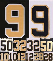 Wholesale Saints Name Numbers Stitched Mens Jerseys Drew Brees Brandin Cooks Stephone Anthony Kenny Vaccaro Marques Colston