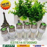 Wholesale E27 E14 Led Light Lamps V V leds LED Lights Corn Led Bulb Christmas lampada led Chandelier Candle Lighting
