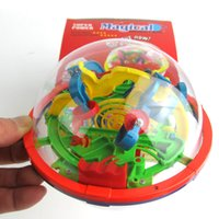 Wholesale Small Educational Magic Intellect Ball Marble Puzzle Game perplexus magnetic balls