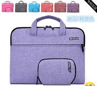 Wholesale Notebook Tablet Laptop Sleeve Case Bag carrying handle briefcase for inch macbook air pro retina laptop Asus maletin portatin