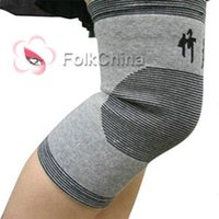 Wholesale 1 Pair Far Infrared Bamboo Charcoal Knee Pad Support Kneecap Protector HLTH A001