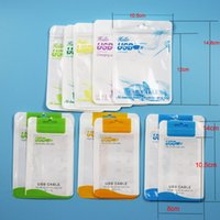 bag handles - Clear White Pearl Plastic Poly Bags OPP Packing Zipper Lock Package Accessories PVC Retail Boxes Handles for USB iPhone Samsung Cell Phone