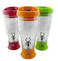 Polvo de proteína de la leche del café coctelera mayorista eléctrico agitar frasco deportes aptitud botella taza de agua automático