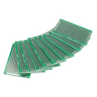 Wholesale 10pcs x6cm Double Side Prototype PCB Universal Printed Circuit Board HB88