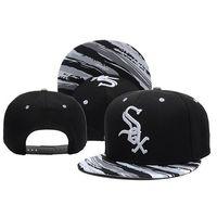 baseball hats online - Chicago White Sox Snapback Baseball Team Hats Baseball Cap for Men Women Caps Buy Hats Online with Various Styles Snapback Hats and Caps