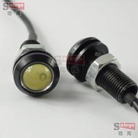 Wholesale 2pcs mm W W w DRL eagle eye led reverse lights backup parking reversingled daytime running lights