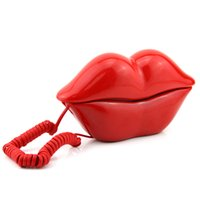 Wholesale High quality fashion red sexy special pretty home household office phone telephone