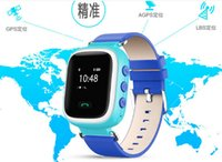 anti gsm - 1pcs Smart Phone Watch Children Kid Wristwatch Color GSM GPRS GPS Locator Tracker Anti Lost Smartwatch Child Guard for Android Q60