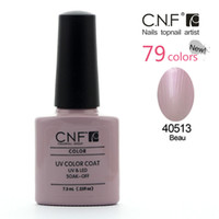 Wholesale Famous Brand CNF Nail Art Fashion Soak Off UV LED Nail Gel Polish Colors Base Gel Top Gel