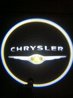 Wholesale 2x For Chrysler Ghost Shadow Cree Led Car Door Logo Led Laser Welcome Project Light th