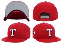 baseball side table - Men s red sport team hat side logo Texas Rangers adjustable baseball snapback cap