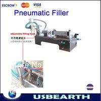 Wholesale Hot selling Pneumatic liquid paste filling machine ML automatic Horizontal Pneumatic filler