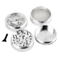 cinnamon - 2015 new hot Handle Mill Grinder Piece Herb Tobacco Spice Crusher Aluminum Alloy Storage
