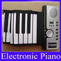 Enrollar 61 teclas España-61 teclas enrollan MOQ piano del teclado suave = 1 el envío libre