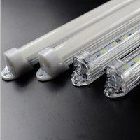 Wholesale 50pcs CM DC V SMD LED Hard Rigid LED Strip Bar Light with U Aluminium shell pc cover