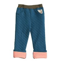 Wholesale 2015 new arrival casual little boys winter elastic pants baby cm waist cotton spring autumn trousers leisure repair the spare
