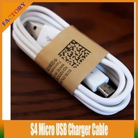 Wholesale 10pcs Micro USB Charger Cable for Samsung Galaxy S4 Note Sync Data Charging Adapter Lead Cord for HTC LG Nokia Cell Phones Universal