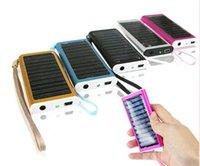 Promoção 1350mAh carregador solar USB Power Panel bateria lanterna para MP3 / MP4 PDA Cell Phone Camera