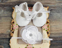 Girl bebe boots - 6 off2015new cheap Soft Soled Girls Shoes Rhinestone Headbands Set Cute Toddler Boots Sapato Bebe Christening Baptism Shoes Shower Gift set