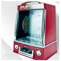 Wholesale New Arrival Coin Pusher Arcade Game Machine Red Color Creative Coin Acceptor Game Machine Toys for Kid