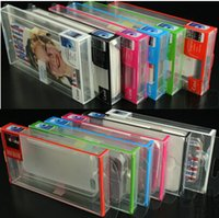 Wholesale PVC Retail package Universal Packaging box Plastic boxes for phone Case iphone S S c SE SAMSUNG Galaxy s3 s4 s5 S6 edge OEM service