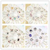 Wholesale 8 set DIY Mini Cute Crystal Kawaii Cartoon Love Weather Travel Stamp Set for Diary Decoration Scrapbooking