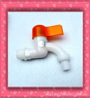 Wholesale The High quality White Type Plastic Washer Tap Faucet is very Cheap