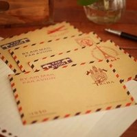 Wholesale 20 Mini Retro Vintage Paris Paper Envelope Fashion Cute Kawaii Korean Stationery for Cards