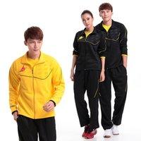 Wholesale Japan YY ChongWei Lin Dan Badminton clothes Jacket Pants Badminton Sportswear AB